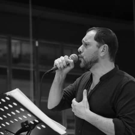 Corrado Villa, voiceover, attore professionista, doppiatore
