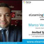 eLearningPoint 2019: la normativa sulla protezione dei dati personali e le implicazioni con l'eLearning (GDPR)