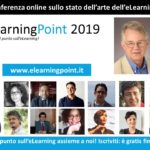 eLearningPoint 2019: an online Conference to make the point about eLearning